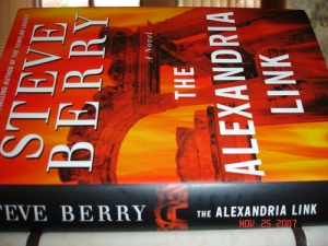 """""""The Alexandria Link"""" by Steve Berry"""
