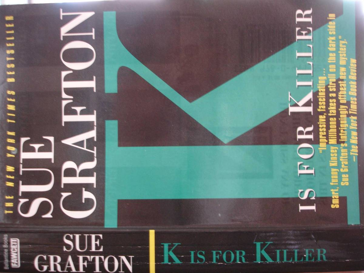 """K is for Killer"" by Sue Grafton"