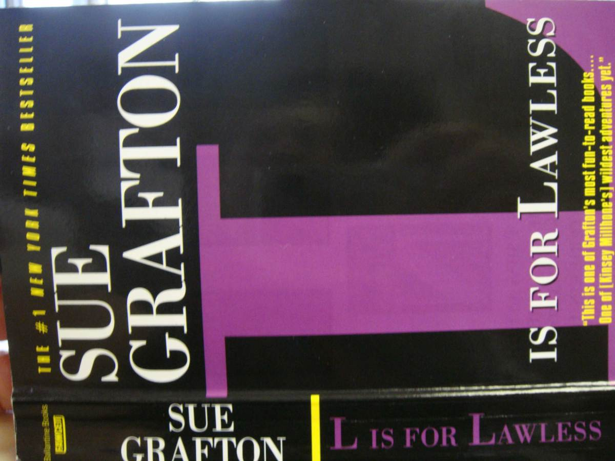 """L is for Lawless"" by Sue Grafton"