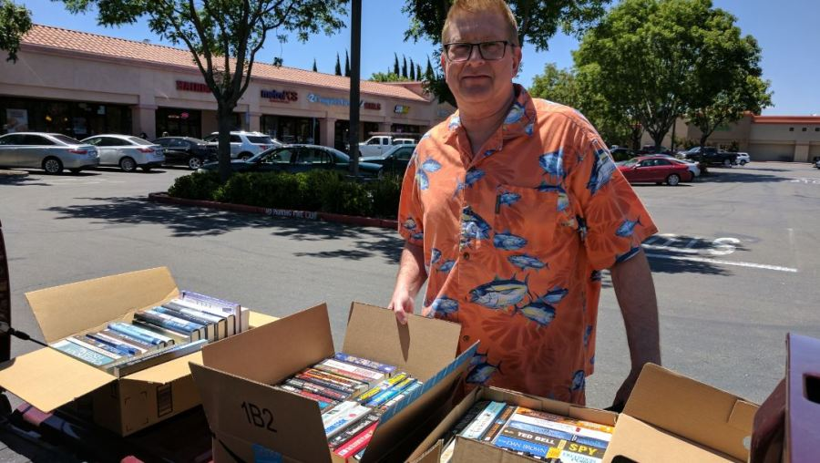 rick book donation