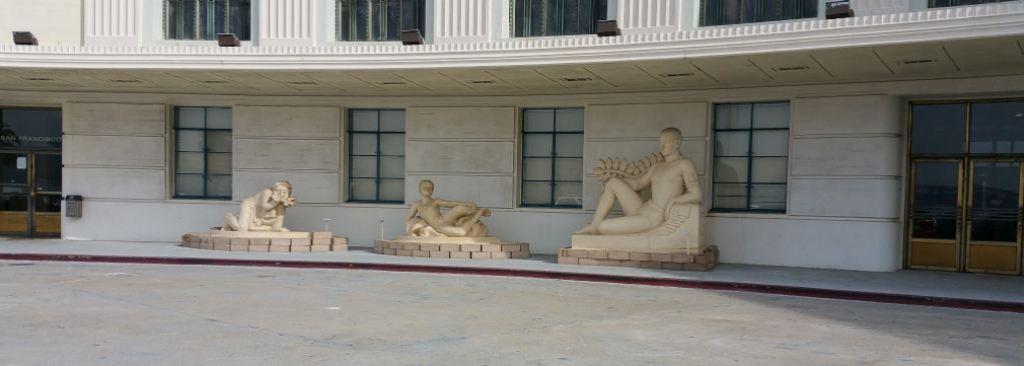 museum statues left