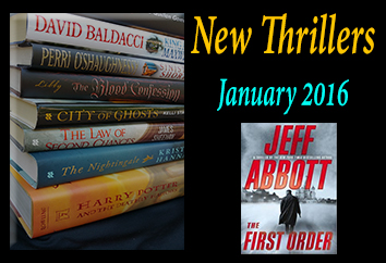 Jan 2016 Thrillers