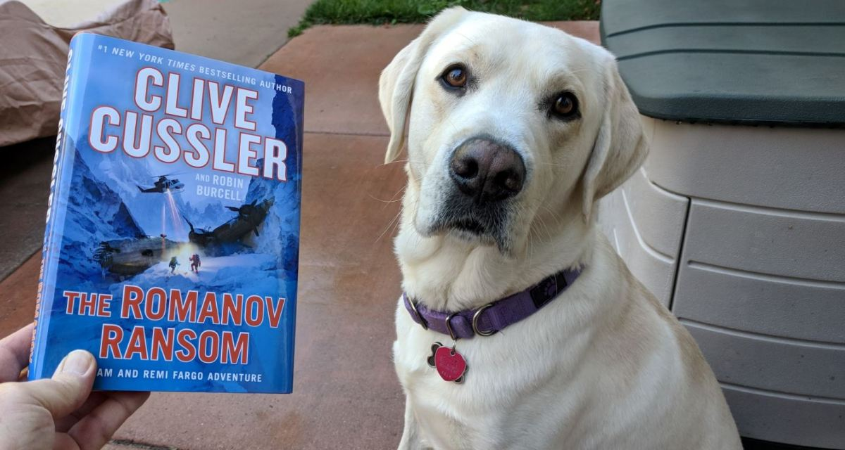"""""""The Romanov Ransom"""" by Clive Cussler and Robin Burcell"""