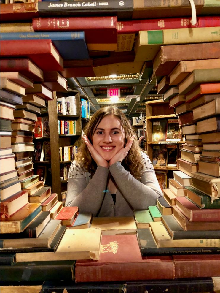 kristen and books
