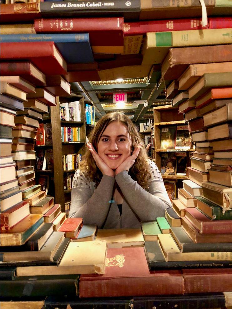 kristen and books