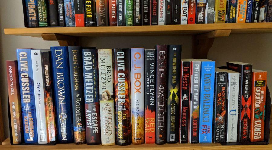 Bookshelf Dec 2018